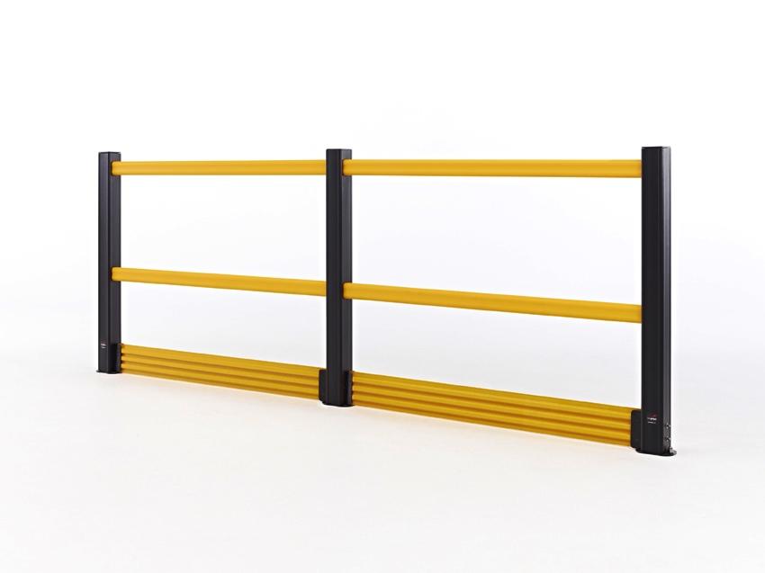 HD+KICKPLATE: barriera di sicurezza per soppalchi
