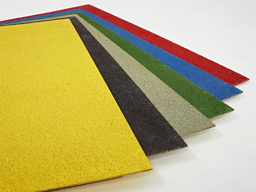 Pavimentazioni antiscivolo diversi colori