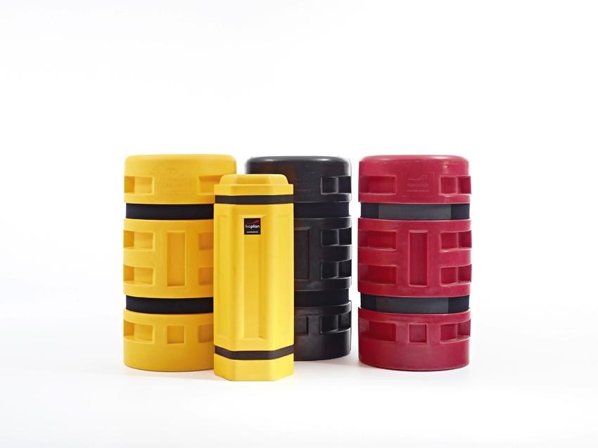 Protezione per colonne e pilastri