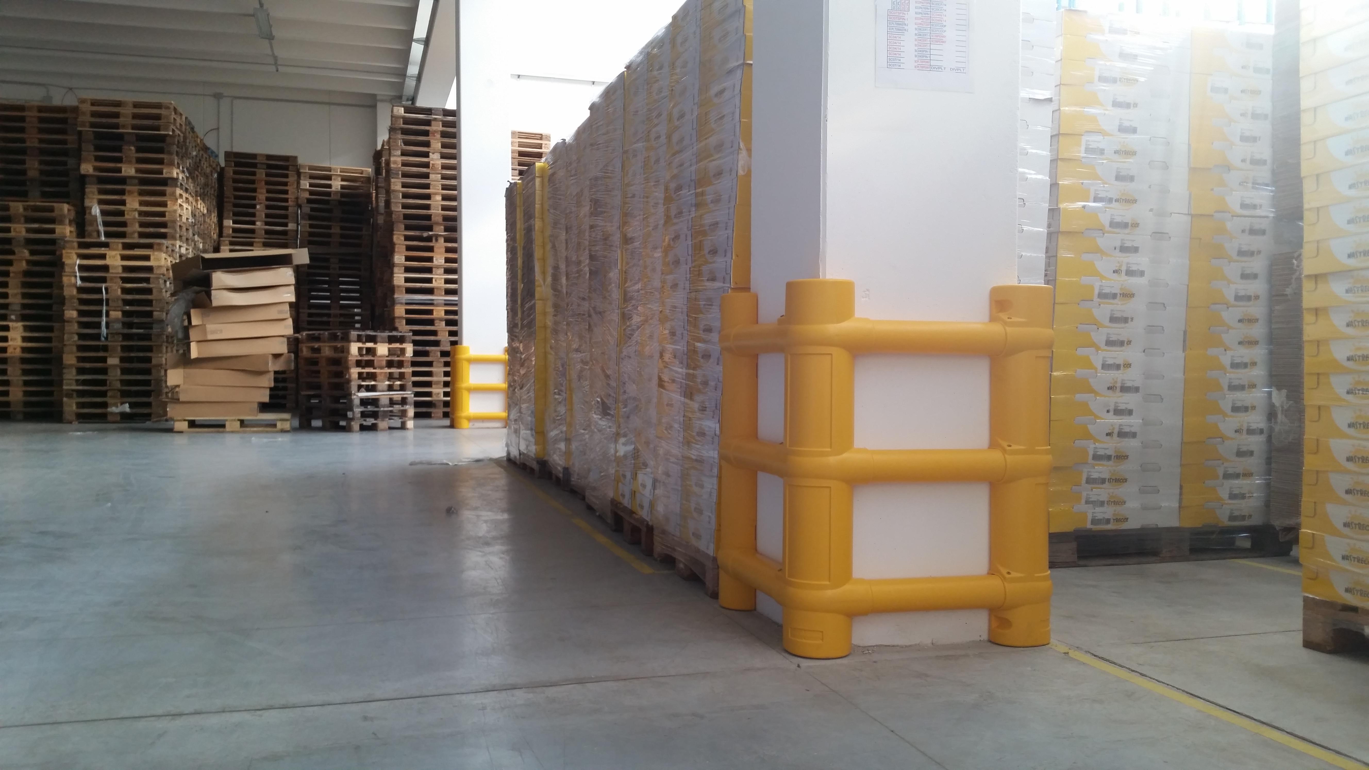 Protezione delle colonne