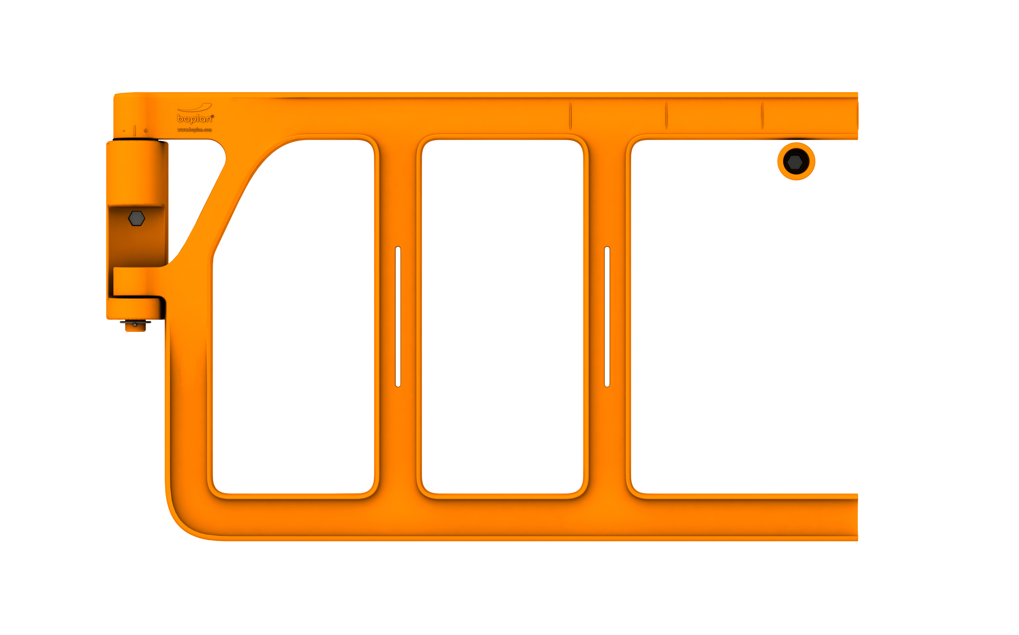 Cancello di sicurezza per scale alla marinara e soppalchi a chiusura automatica e garantita
