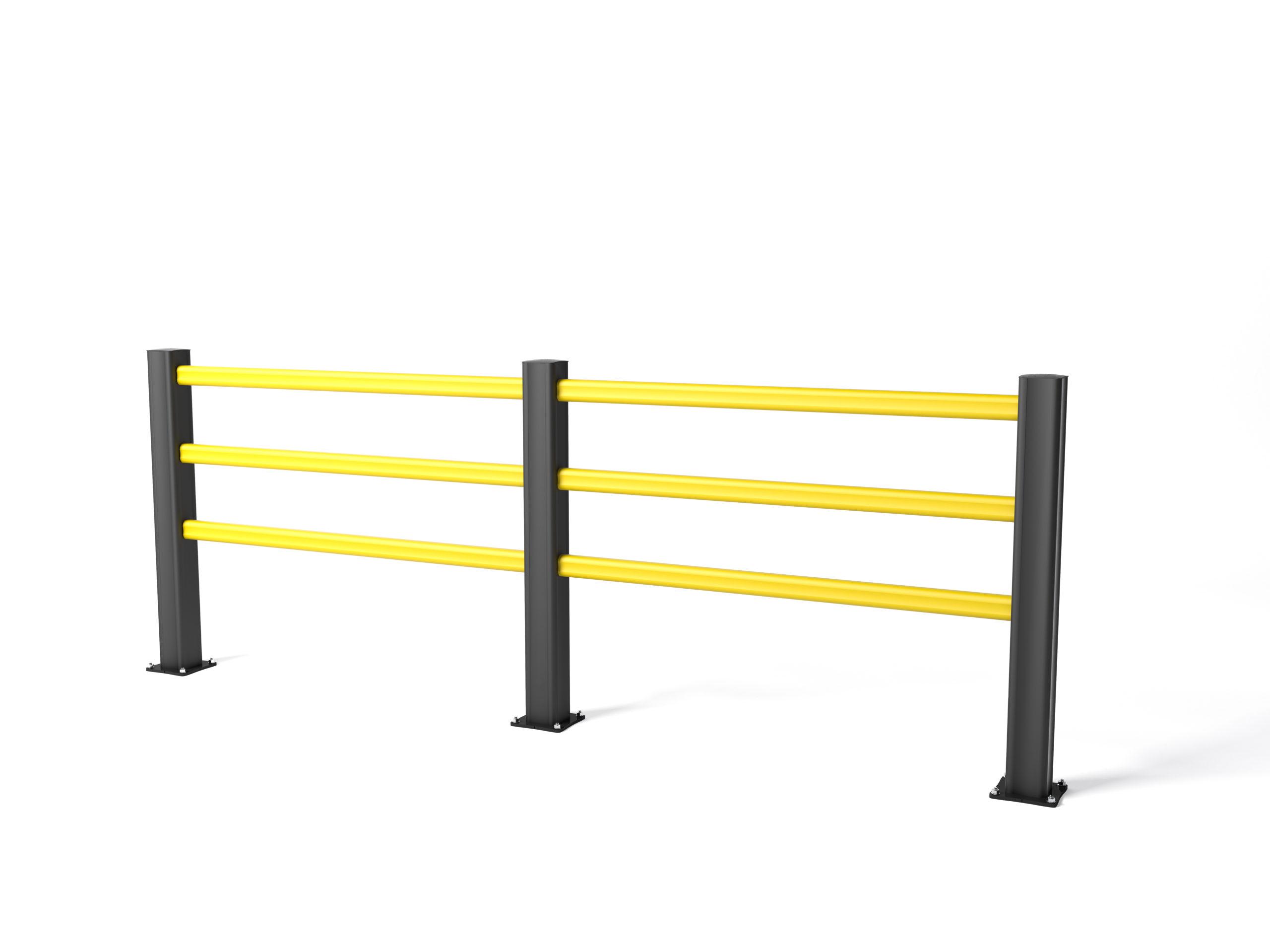 HP PLUS: barriera pedonale di delimitazione rinforzata